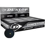 Squashbollar Squashbollar Dunlop Competition 12-pack