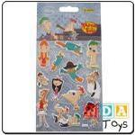 nda Phineas And Ferb Goggle Eye Stickers