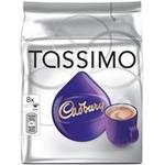 Kenco Tassimo Cadbury Hot Chocolate 8X 240G Capsules Pk 5 131270