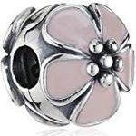 Pandora Cherry Blossom Pink Enamel Pandora Clip 791041EN40