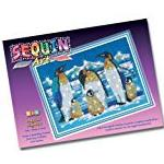 KSG Sequin Art and Beads Penguins
