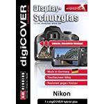 digiCOVER Hybrid Glass Display Protection Foil for Nikon D3200 / D3300