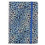 Trendz Universal Patterned Case with Built-In Stand and Closing Strap for Tablets - 10 inch, Blue Animal Print