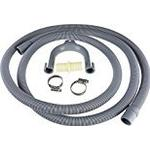 Qualtex Drain Hose Extension for Washing Machines, 2.5 m