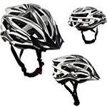 AWE® AeroStealthTM Carbon Fibre Insert Double In-Mould 24 Vents Adult Bicycle Bike Cycle Helmet CE EN1078 TUV Approvals