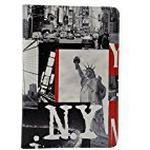 Omenex Akashi New York City 730599 Folio Case for the Samsung Galaxy Tab 3 10.1 Inches, Black