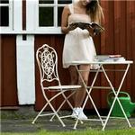 Hillerstorp Cafémöbel Hillerstorp Orion, 2 st stolar 557944, 1 st bord 5