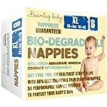 Beaming Baby Biodegradable Extra Large Nappies - Packs of 4(136 Nappies)