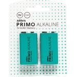 Adlibris Primo 2220000000079 Alkaline 2-pack