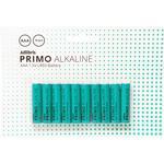 Adlibris Primo 2220000000062 Alkaline 10-pack