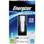 Energizer Ultimate iPhone 5/6   2in1 Billaddare 3.1Amp.