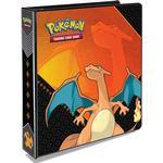 Pokemon, pärm för lösa plastfickor - 3 ringspärm - Charizard