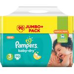 Procter & Gamble Pampers Baby-Dry S3 5-9kg 90 st