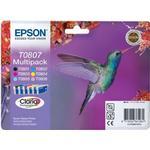 Epson T0807 Multipack Ink Cartridge