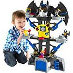 DC Comics Imaginext Transforming Batcave Playset