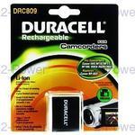 Duracell Videokamera Batteri Canon 7.4v 900mAh (BP-809)