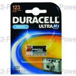 Duracell Ultra M3 3v Lithium (1 Pack) (CR17345)