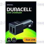 Duracell USB Dual Billaddare 2 x 2.4A