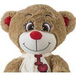 iPlush Stor Bamse Love Bear Lysebrun 60cm