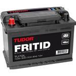 Exide/Tudor Tudor Startbatteri 72Ah, Exide/Tudor