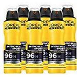 L'Oreal Men Expert Invincible Sport Deodorant 150ml Pack of 6
