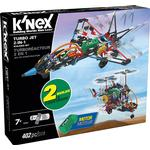 Knex Turbo Jet 2 In 1 Buildingset 16004