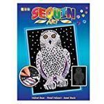 sequin art 1604 Snowy Owl Craft Set