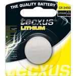 Knappcellsbatteri CR2450 3V