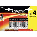 ENERGIZER BATTERIER ENERGIZER MAX AAA 12-PACK
