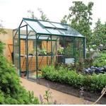Rhino Premium Greenhouse --- 6x8 - Bay Tree Green Finish