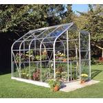 Eden Halls Halls 6x8 Supreme Curved Greenhouse + Base-frame - Horticultural Glass