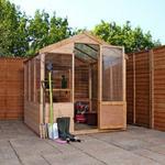 Mercia 8x6 Wooden Greenhouse