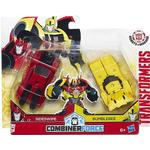 Hasbro Transformers Robots in Disguise Combiner Force Crash Combiner Beeside C0630