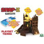 Giochi Preziosi Snap-X Earth Gormiti Play Set 91 Parts And 1 Figure