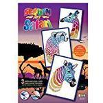 sequin art 1607 Giraffe/Cheetah/Zebra Craft Set