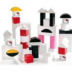 Brio Hello Kitty Wooden Building Blocks 50pcs 32315