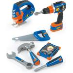Smoby Bob the Builder Play Set + Mechanical Drill