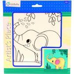 Avenue Mandarine Lærred med elefant