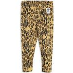 Barnkläder Mini Rodini Basic Leopard Leggings - Beige (1923012613)