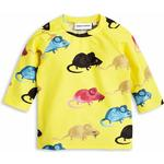 Mini Rodini Mr Mouse Uv Top - Yellow
