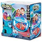Tobar Robo Fish Fish Bowl Two Coral and Castle (Colours May Vary)