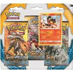 Pokémon Sun & Moon Booster Packs with Bonus Litten Promo Card & Coin
