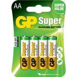 GPBM Nordic AB Batteri Super AA LR6 1,5V 4 st