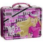 Barbie lunchlåda i metall - Barbie Im a doll madkasse 250634
