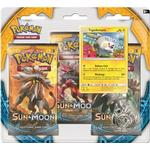 Pokémon Sun & Moon Booster Packs with Bonus Togedemaru Promo Card & Coin