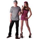 Vegaoo Par som fångats - Pardräkt i vuxenmodell