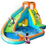 Happyhop Island Water Slide with Pool & Water Gun