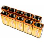 PKCELL 6LF22 / PP3 / D 10-pack
