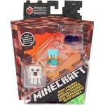 Minecraft Minifigures, 3 pieces. - B