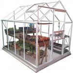 Simplicity Classic Plain Aluminium Greenhouse 6x8 Starter Package